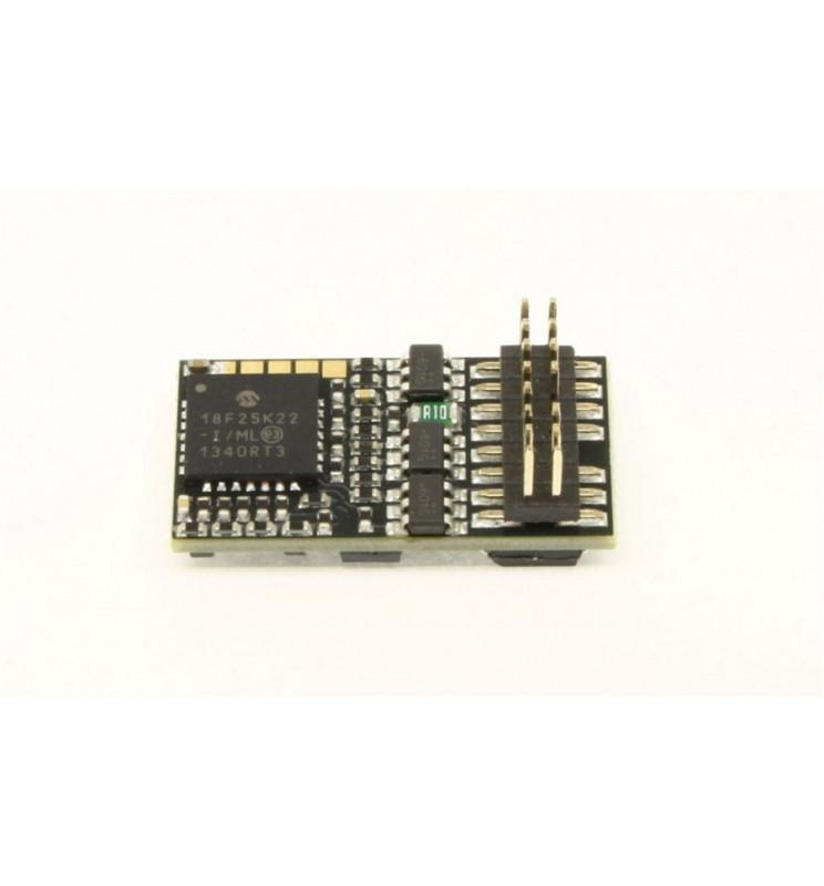 Dekoder jazdy i oświetlenia Zimo MX630P16 (3W) DCC PluX16 16-pin