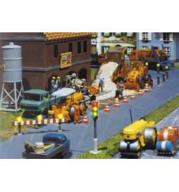 Zestaw CS: Roboty drogowe - Faller 161673