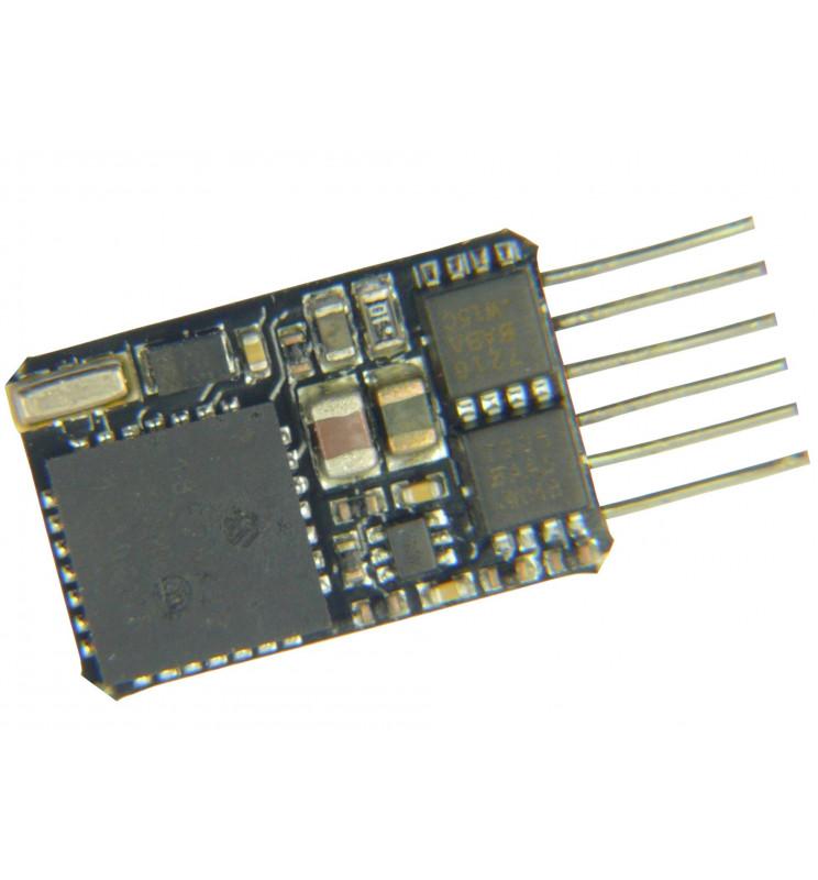 Dekoder jazdy i oświetlenia Zimo MX622N DCC 6-pin direct