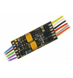 Nowość ! Miniaturowy dekoder jazdy i dźwięku Zimo MX649 (1W) DCC 11-kabli