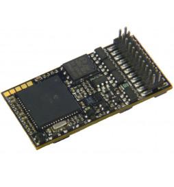 Dekoder dźwięku do Roco S200 (rewelacyjne dźwięki od ARTOL'a) - Zimo MX645P22 (3W) DCC PluX 22-pin