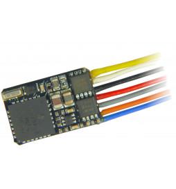Dekoder jazdy i oświetlenia Zimo MX622 DCC 7-kabli