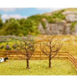2 drzewa bez liści, 70mm - Faller 181225
