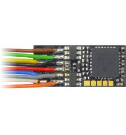 Dekoder jazdy i oświetlenia Zimo MX623 DCC 7-kabli