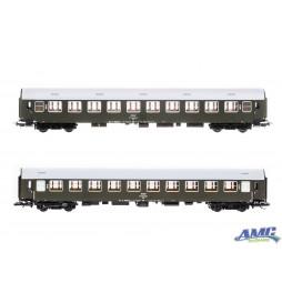 Zestaw 2 wagonów osobowych Bwxzde i Bdu, PKP ep.IVc - Tillig H0 501538