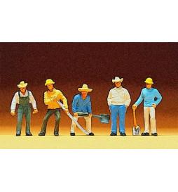 Robotnicy kolejowi 1/87 - Preiser 10031
