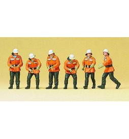 Strażacy 1/87 - Preiser 10242