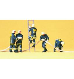 Strażacy 1/87 - Preiser 10485