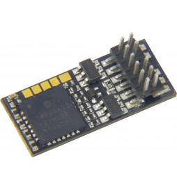 Dekoder jazdy i oświetlenia Zimo MX623P12 DCC PluX12 12-pin