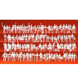 Kolejarze i podróżni, 120 figur 1/87 - Preiser 16325