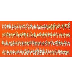 Osoby siedzące, 120 figur 1/87 - Praiser 16328