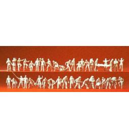 Strażacy, 42 figury 1/87 - Preiser 16329