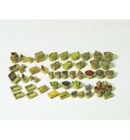Kosze z warzywami i owocami 1/87 - Preiser 17502
