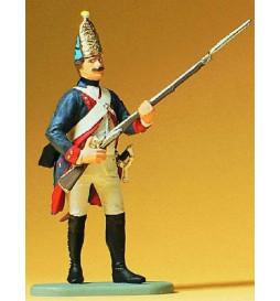 Grenadier, Prusy 1756 1/24 - Preiser 54147