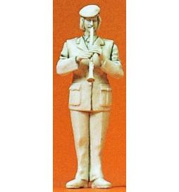 Orkiestra wojskowa: klarnecista 1/35 - Preiser 64367