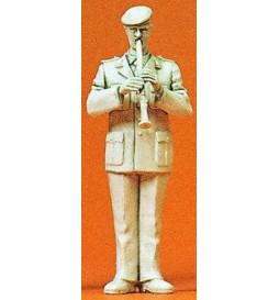 Orkiestra wojskowa: klarnecista 1/35 - Preiser 64368