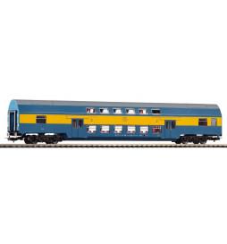 Wagon piętrowy PKP 2 Kl, Stacja Racibórz, Ep.V, typ Goerlitz 88 - Piko 97057