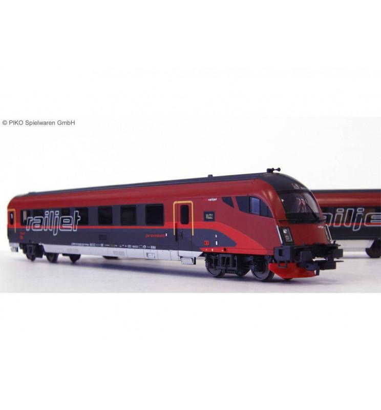 Wagon Osobowy Sterowniczy Railjet ÖBB VI - Piko 57670