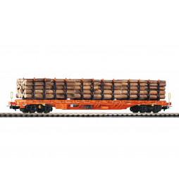 Wagon Towarowy Platforma, Sgnss Holztransport Wascosa VI - Piko 54681