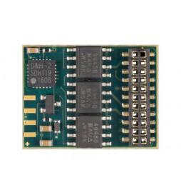 Dekoder DCC/SX/MM jazdy i oświeltenia D&H DH21A-4 21-pin