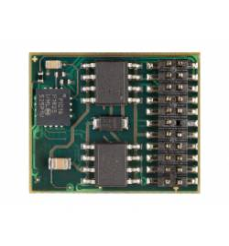 Dekoder DCC/SX/MM jazdy i oświeltenia D&H DH22A-4 PluX22 22-pin