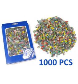 DR60115-H0 - 1000 Figurki, pasażerowie, malowane H0 (stojące)