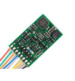 Dekoder jazdy i oświetlenia Lenz Silver+ 21 DCC 21-pin