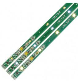 Digikeijs DR110W - Listwa oświetleniowa, analogowa, zimny biały, 28cm, regulowana, 10 diod, z możliwością skracania