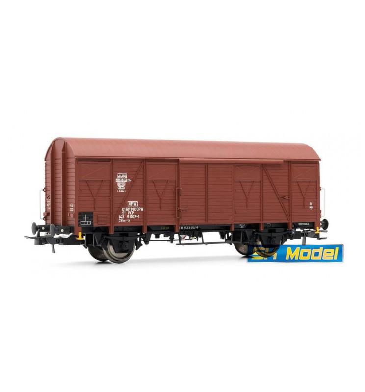 Wagon towarowy kryty 23K PKP - Rivarossi HRS6389