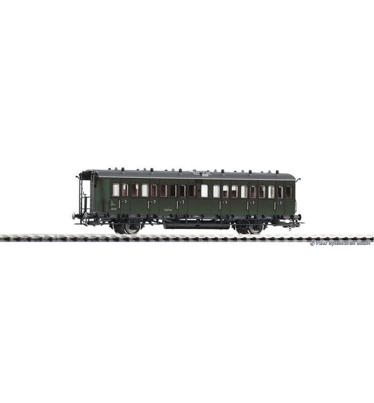 Wagon Os.przedział. C 48 022 3.Kl. BBÖ III - Piko 53164