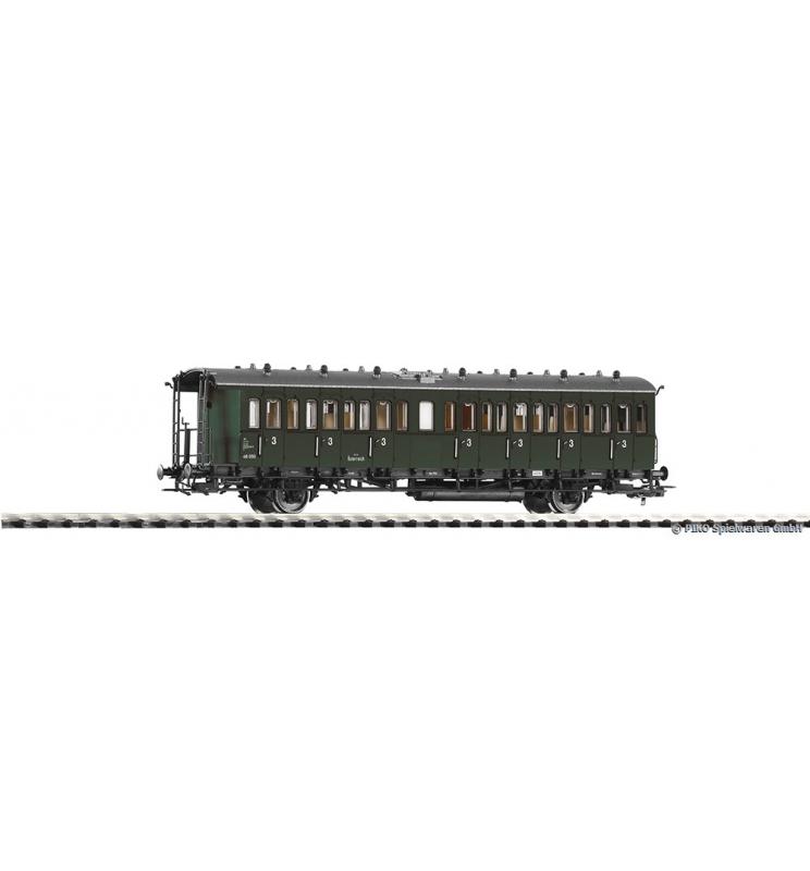 Wagon Os.przedział. C 48 050 3.Kl. BBÖ III - Piko 53165