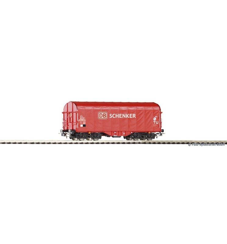 Wagon Towarowy ze ścian.przesuw. DB Schenker VI - Piko 54587