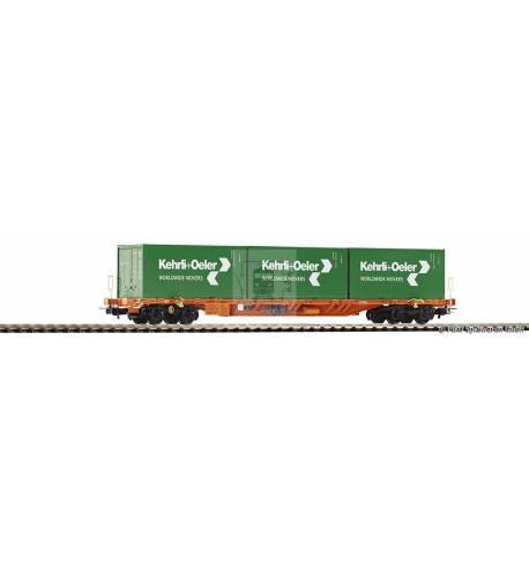 Wagon Towarowy platforma Sgnss z ładunk. VI - Piko 54685