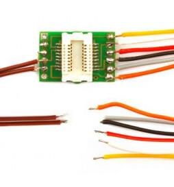 Płytka adapter do dekoderów Next18 z 8 przewodami (Doehler & Haass N18-K-3)