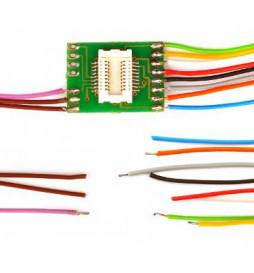 Płytka adapter do dekoderów Next18 z 11 przewodami (Doehler & Haass N18-G-3)