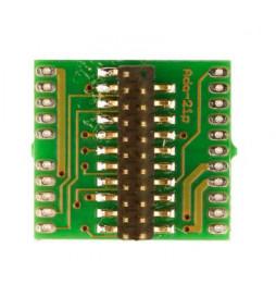 Płytka adapter do dekoderów 21-pin 21MTC (Doehler & Haass M21-0)