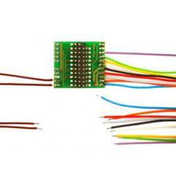 Płytka adapter do dekoderów 21-pin 21MTC z 11 przewodami (Doehler & Haass M21-3)