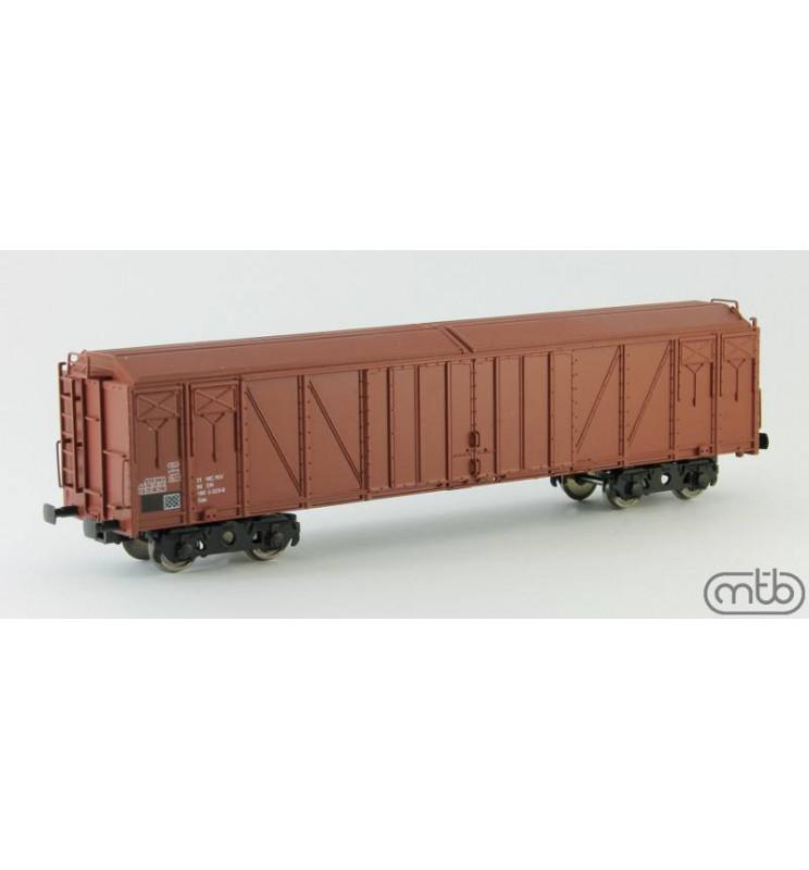 MTB-Model DR_Gas, Zestaw dwóch wagonów krytych Gas, DR, ep. IV