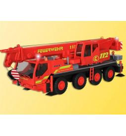 Viessmann 1141 - H0 Dźwig strażacki z trzema błyskającymi niebieskimi światlami