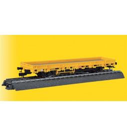 Viessmann 2316 - H0 Wagon platforma (żółta) z napędem (wersja AC)