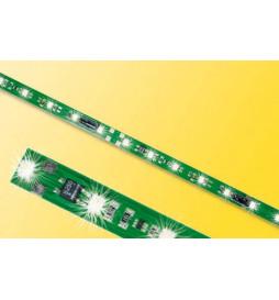 Viessmann 5090 - Listwa oświetleniowa H0,TT,N, 8 LED, biały zimny