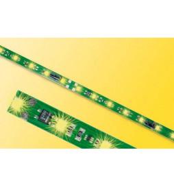 Viessmann 5091 - Listwa oświetleniowa H0,TT,N, 8 LED, żółty