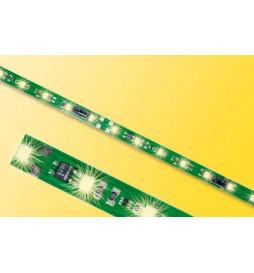 Viessmann 5092 - Listwa oświetleniowa H0,TT,N, 8 LED, ciepła biel