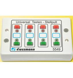 Viessmann 5549 - Panel sterowniczy dwupozycyjny z informacją zwrotną