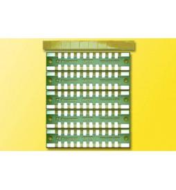 Viessmann 6859 - Płytka połączeniowa 2 styki, 5 elementów
