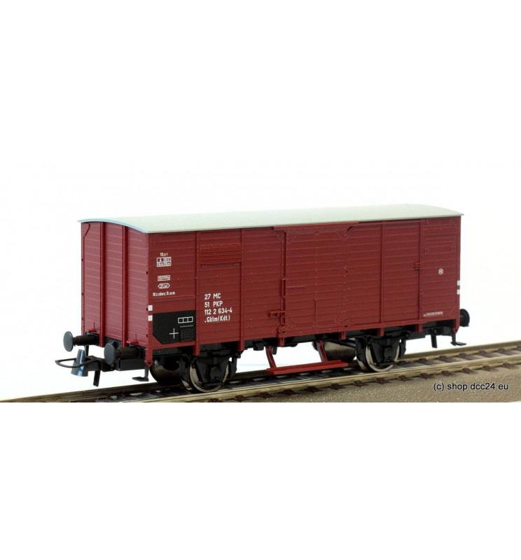 Roco 56229 - Wagon towarowy kryty .Gklm(Kdt) PKP ep. IV