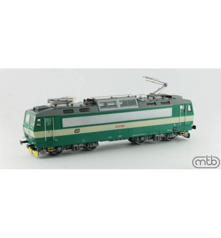 "a ČD 163 047 ""Basia"" (ex. E499.3) - MTB-ModelLokomotywa elektryczn"