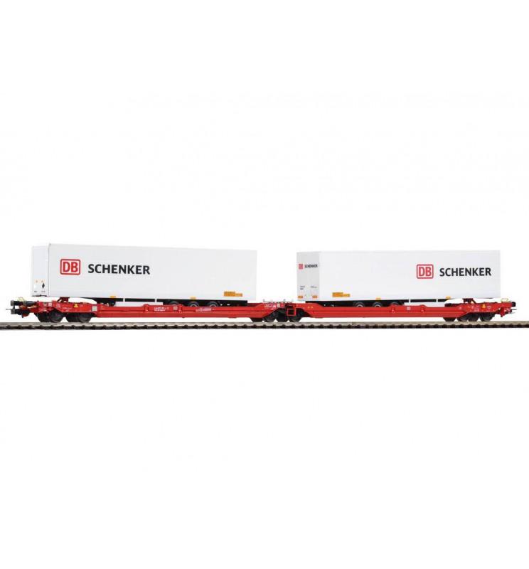 Wagon Towarowy kieszeniowy T3000e DB Schenker VI - Piko 54771