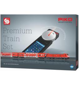 PIKO SmartControl Premium Train Set BR 245 Zestaw osobowy z dekoderem - Piko 59112