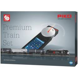 PIKO SmartControl Premium Train Set Vectron Zestaw Towarowy z dekoderem - Piko 59113